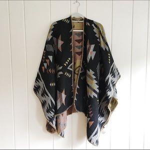 Forever 21 tribal print shawl
